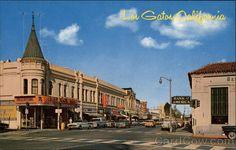 Downtown Los Gatos California