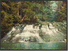 Paradise Falls, Pocono Mountains, Pennsylvania