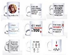 Mugs make great gifts for any occasions. Christmas is coming!