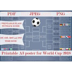 Items similar to 2018 World Cup Schedule 3c6a01c778b
