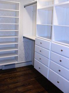 Master Bedroom Martha Stewart Walk In Closet.