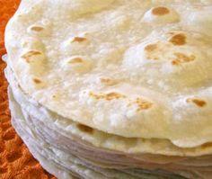 Tortillas de harina caseras - Mexican flour tortillas (Tradicionales)