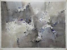 """""""Trayectorias"""" - Heriberto Zorrilla - Tinta sobre papel – 39 x 51 cm 1993 www.esencialismo.com"""