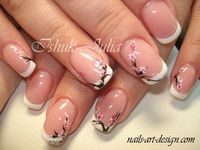Cherry Blossom nail art... - Pepino Nail Art