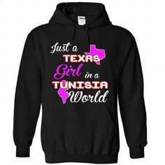 Texas-Tunisia Girl - teeshirt #cute t shirts #red sweatshirt