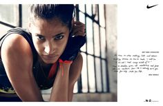 Beau Grealy Shoots Women's Training Spring Campaign for Nike - Google Search