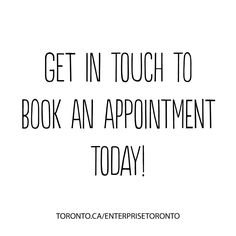 Did you know you can make a free apointment with an advisor at one of our offices to explore your business development options? #entrepreneur #Toronto