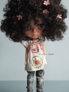 OOAK Custom Blythe Doll by Another Blythe QUINCE by AnotherBlythe