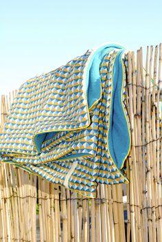 Blanket in the sun