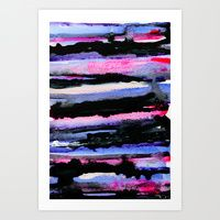 Art Print featuring Layers 02 by Georgiana Paraschiv