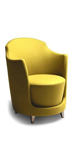 Folies armchair designed by PBA studio for La Cividina | Available at LINEA Inc. Modern Furniture Los Angeles. (info@linea-inc.com) #lineainc
