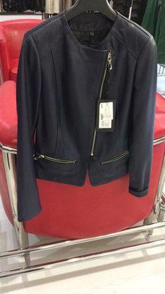 Black real leather jacket,#leonardoleather