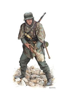Late war infantry