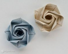 Origami rose #OrigamiLife