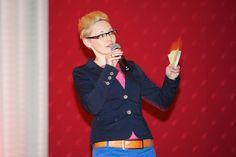 Moderatorin Jeannine Tieling führt gerne auch durch das Programm Ihrer Veranstaltung! (Foto: Petra Homeier Fotografie)