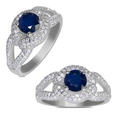 Ebay NissoniJewelry presents - 5/8CT w/ Genuine Sapphire Engagement Ring 14k W/Gold    Model Number:FR8754F-W476SA    http://www.ebay.com/itm/5-8CT-w-Genuine-Sapphire-Engagement-Ring-14k-W-Gold-/222062062591