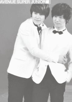 Kyuhyun and Yesung from Super Junior. Y'all are so cute!