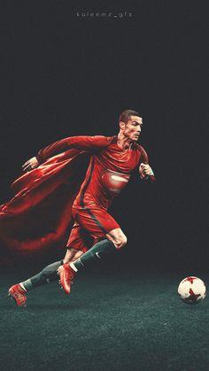 Cristiano ronaldo | mobile wallpaper via @kaleemz_gfx #futbolronaldo