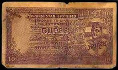 Printed Rs. 10 Note with Netaji Subhas Chandra Bose's head on it, which the Indian government has closed since 1948.