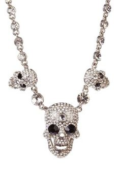 Heather Skull Necklace