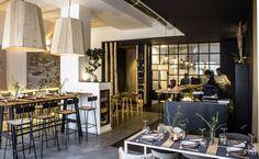 PURO - Picture gallery #architecture #interiordesign #restaurant #black #wood