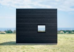 Muji Hut, a tiny prefab timber cabin for a minimalist living Prefab Buildings, Prefabricated Houses, Prefab Homes, Metal Buildings, Cabana, Muji Hut, Timber Cabin, Cabins For Sale, Tiny Cabins