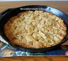 This Iron Skillet Apple Cobble-Up Recipe is easy and makes a great dessert to serve with ice cream or whipped cream for family or guests. 2 cups biscuit mix such as Bisquick 1 cup milk 1/2 teaspoon…