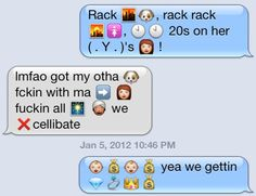 But it's really song lyrics that shine through the most. | 23 Famous Movies And Songs Reenacted In Emojis