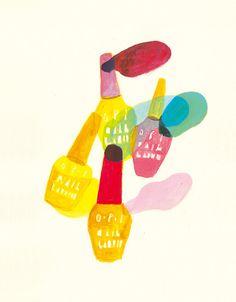 Hazuki Miyahara Illustration