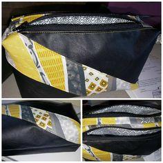 Trousse compartimentée Zip-Zip cousue par Coco - Patron couture Sacôtin