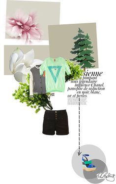 """""""Flowers"""" by isasada ❤ liked on Polyvore"""
