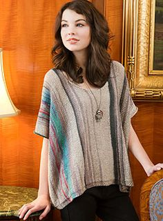 free knit sweater pattern. I think I'm going to knit a longer version of this