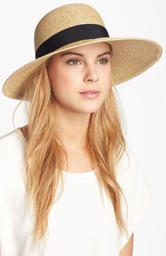 Nordstrom Wide Brim Sun Hat | For a sunny vacation ;)
