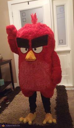 Red Bird - Halloween Costume Contest via @costume_works