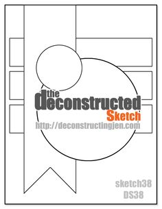Pickled Paper Designs: Deconstructed Sketch #38 - Thank U