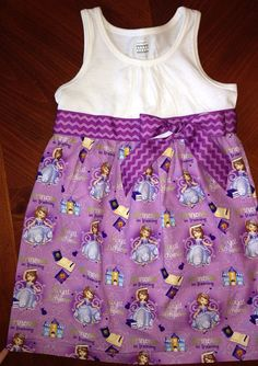 Sofia the First Dress on Etsy, $30.00