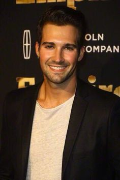 James Maslow attends Empire Season 2 premiere at NYC.