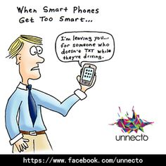 Smartphone etiquettes while driving…