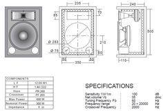 Plans to build bass speaker cabinet plans PDF Bass amp speaker cabinet plans Celestion have designed a ported bass voice locker specifically for utilise for Subwoofer Box Design, Speaker Box Design, 15 Subwoofer, Car Audio Installation, Speaker Plans, Cabinet Plans, Audio Speakers, Audio Amplifier, Loudspeaker