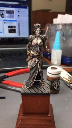 I won a painted mini from Shoshie! | Miniature Painters Guild | BoardGameGeek