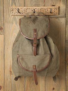 Woodsman Backpack    $49.95