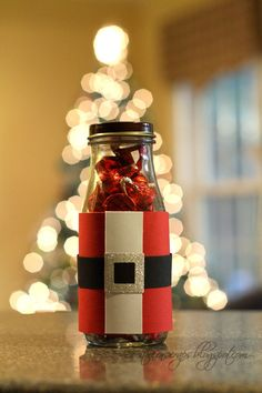 I have been saving some Starbucks Frappicino bottles for quite some time. I finally used them to make some stocking stuffers. Starbucks Bottles, Frappuccino Bottles, Christmas Makes, All Things Christmas, Christmas Diy, Shabby Chic Gifts, Holiday Festival, Bottle Crafts, Craft Fairs