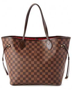 Louis Vuitton Damier Ebene Canvas Neverfull MM  Louisvuittonhandbags Ysl Bag d0907efb84432