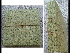 Pasta para papéis de scrapbook - Aula parte 2 de 2