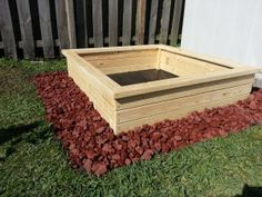 How to make a Raised Gardening bed :)
