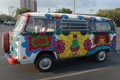 Groovy Yoga VW Bus