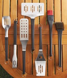 Pampered Chef Grilling Tools! I am now Pampered Chef Consultant!!