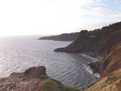 View of the houses on the Hill of Howth - I will live here some day! #dream #home #cliffs