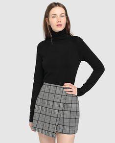 Falda cruzada de mujer Easy Wear de cuadros 8be447e82433