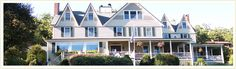 Five Gables Inn, Boothbay Harbor, Maine. Go there. Its fantastic!